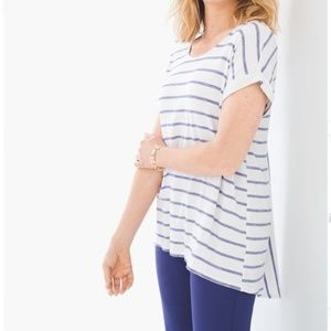 Chicos Striped Tee